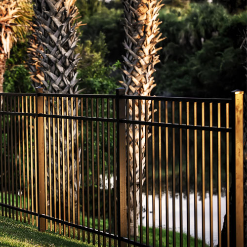 Aluminum fence South Florida